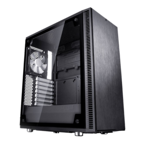 Fractal Design Define C med Glass – Sort