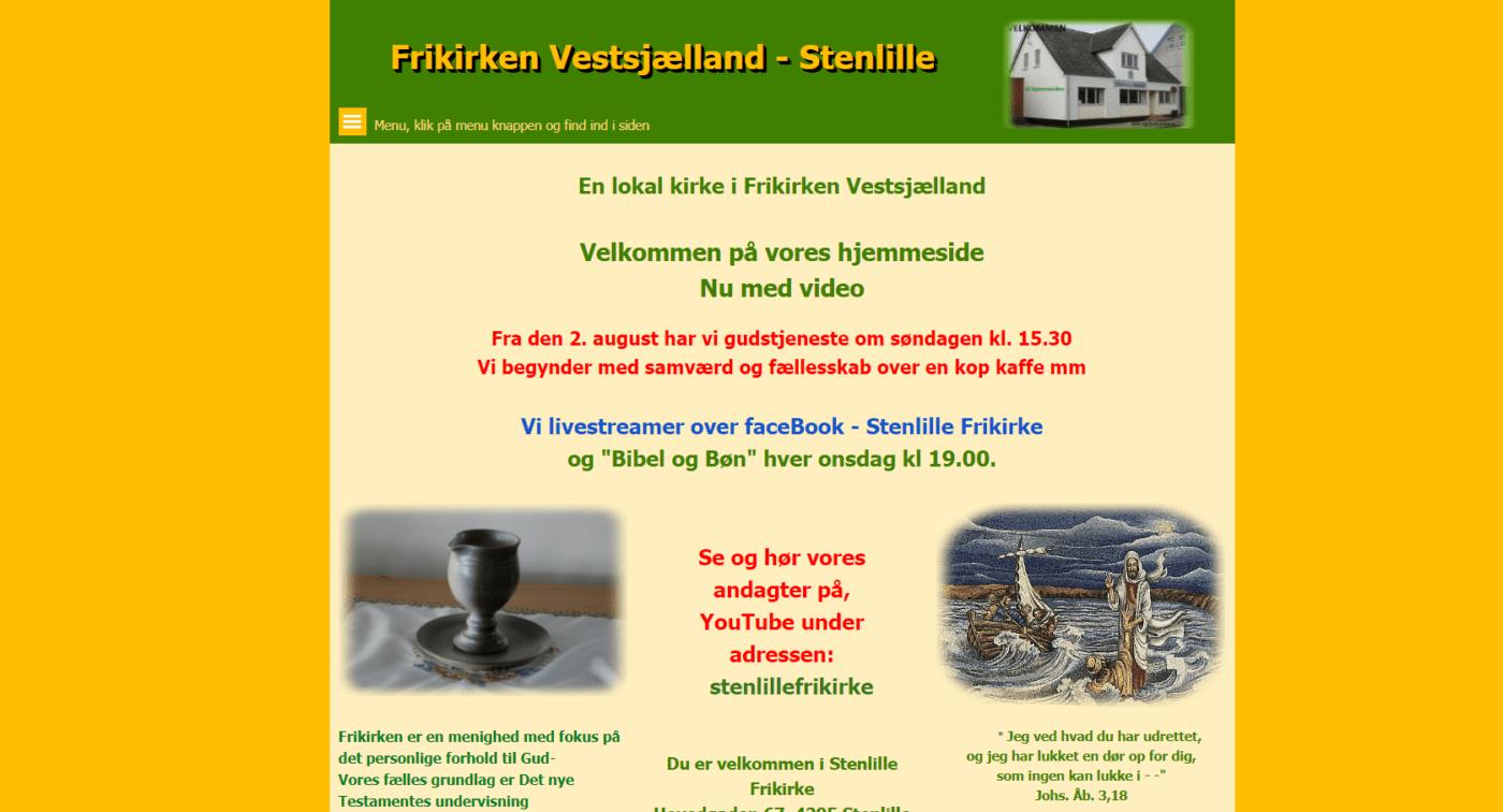 Stenlille Frikirke hjemmeside