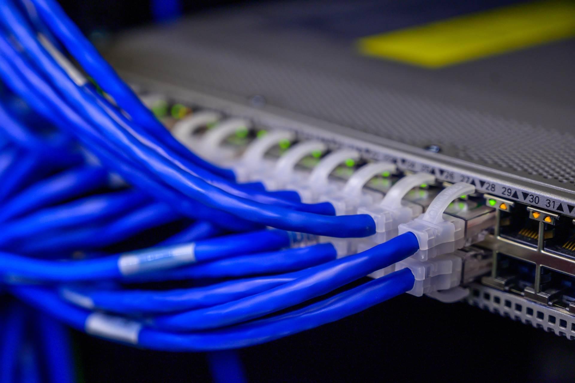 Kablede forbindelse